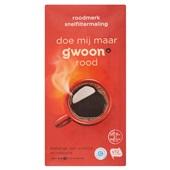 Gwoon koffie snelfiltermaling rood