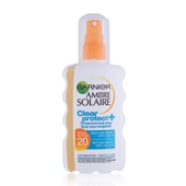 Ambre Solaire Zonnebrand Clear Protect Spray factor 20