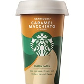 Starbucks Ice Coffee MacchiatoCaramel