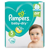 Pampers Baby Dry luiers 5 junior luiers