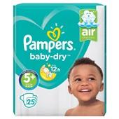 Pampers Baby Dry Luiers 5+ Junior Plus