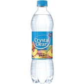 Crystal Clear Frisdrank Peach