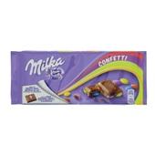 Milka Chocolade Tablet Confetti voorkant