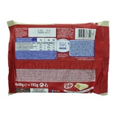 Kit Kat Chunky Chocolade White 4-Pack achterkant