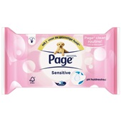 Page vochtig toiletpapier sensitive navulverpakking