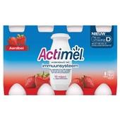 Actimel Drinkyoghurt Aardbei 8X100 Gram