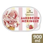 Hertog Ijs Aardbeien Merengue