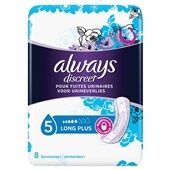 Always Discreet Incontinentie Verband Long Plus