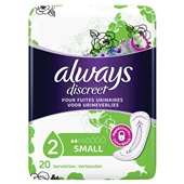 Always Discreet Incontinentie Verband Small
