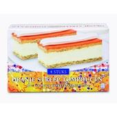 Quality Pastries Oranje streep tompouche