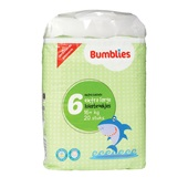 Bumblies luierbroek 6 Extra Large
