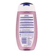 Nivea Douche Water lily achterkant