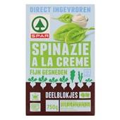 Spar Spinazie À La Crème Deelblokjes