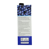 Healthy People Vruchtensap Blauwe Bosbes Framboos achterkant