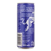 Red Bull Energiedrank Editions  Blue achterkant