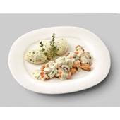 Culivers (96) boeren kippenragout, aardappelpuree met tuinkruiden zoutarm