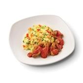 Culivers (63) vegetarische grillstukjes met pomodorisaus en Italiaanse rijstschotel