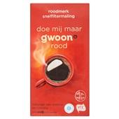 Gwoon koffie snelfitermaling rood