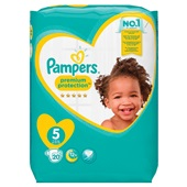 Pampers premium protection luiers junior 5 carry pack