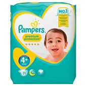 Pampers new baby luiers maxi 4+ carry pack