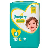 Pampers premium protection luiers XL 6 carry pack