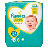 Pampers premium protection  luiers junior 5+ carry pack