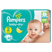 Pampers baby dry luiers mini 2