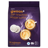Gwoon koffiepads dark