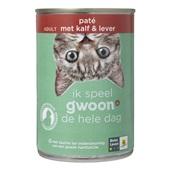 Gwoon Kattenvoer paté met kalf en lever