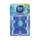 Ambi-Pur flush toiletblok fresh water & mint navulling
