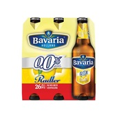 Bavaria Radler Lemon  0.0% 6X30CL