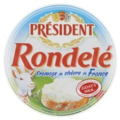 President Rondelé Geitenkaas Chevre Fromage