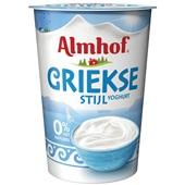 Almhof yoghurt Griekse stijl 0%