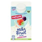 Melkunie drinkyoghurt aardbei - kers