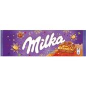 Milka chocolade Peanut Caramel