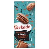 Verkade chocoladereep Gekarameliseerde Pecan Amandel & Zeezout Melk