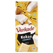 Verkade chocoladereep Kokos Crunch Wit
