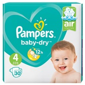 Pampers Baby Dry Luiers 4 Maxi
