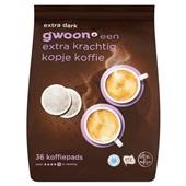 Gwoon koffiepads extra dark
