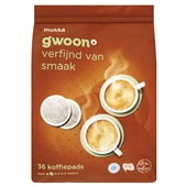 Gwoon koffiepads mocca