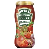 Heinz Seriously Good pastasaus tradional