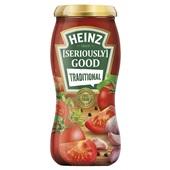 Heinz Seriously Good pastasaus pastasaus tradional