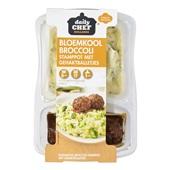 Daily Chef bloemkool broccoli stamppot