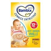 Bambix zonnige ontbijtpap 8 granen vanille
