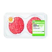 Spar Runderhamburgers 2 stuks