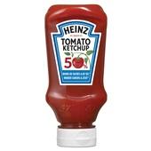 Heinz tomato ketchup 50% minder suiker & 50% minder zout