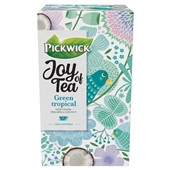 Pickwick Joy of Tea thee green tropical