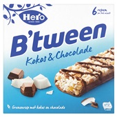 Hero B'tween  granenreep kokos & chocolade