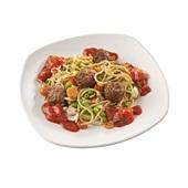 Culivers (62) vegetarische balletjes in peperonatasaus, groentemix en volkoren spaghetti