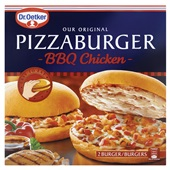 Dr. Oetker Pizzaburger BBQ chicken